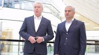 Мэр Москвы Сергей Семенович Собянин посетил трц Avenue South-West