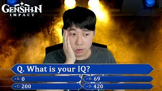 Фото Genshin IQ Test - Genshin Impact