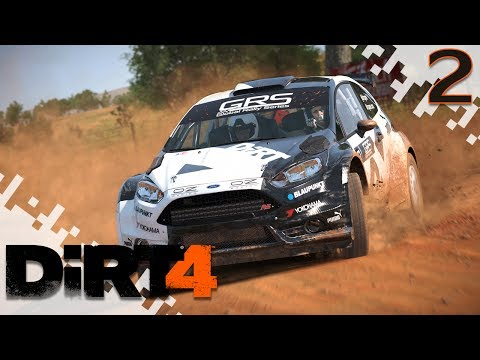 DiRT 4 - I Can't See! - EP02 (#BeFearless, @dirtgame, #Sponsor)