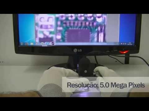 Microscópio Digital 5.0 Mega Pixels Com Zoom De 400X - MV4005