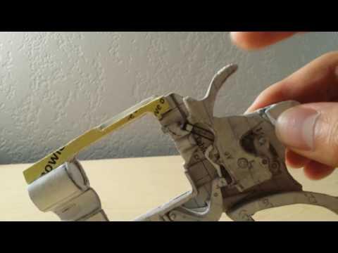 Paper Colt Python Update #3: Safety Mechanism