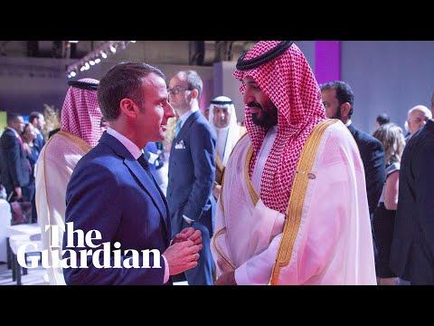 Un periodista grabó un diálogo secreto entre Macron y el príncipe saudí por el crimen de Khashoggi