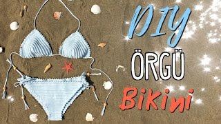 Örgü Bikini / KENDİN YAP /DIY Crochet Bikini