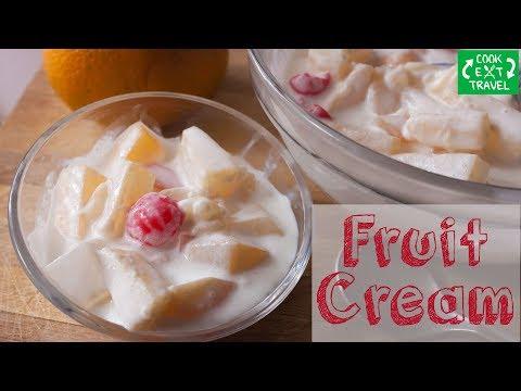 Fruit Cream | Easy Dessert Recipes | Easy Dessert Recipes For Kids |