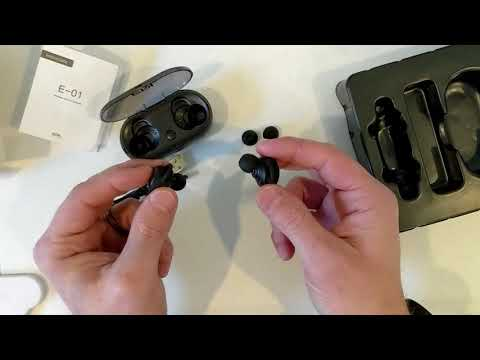 ERL Wireless Sports bluetooth Earbuds Unboxing