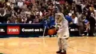 Timberwolves mascot