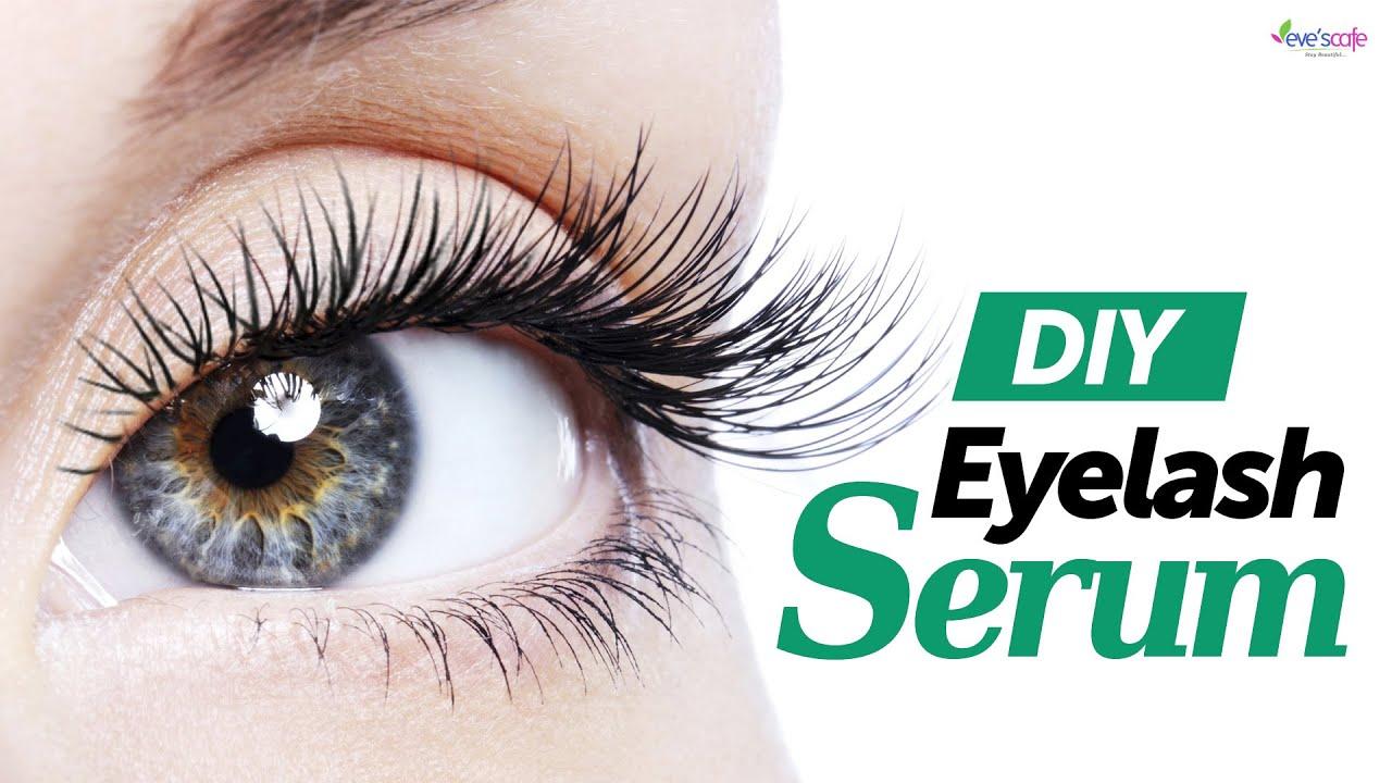 Eyelash Growth Serum 100 Natural Fast Growth Youtube