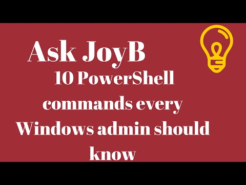 10 PowerShell commands every Windows admin should know