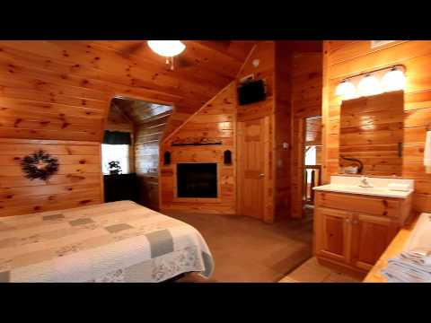 Bear Play 4 Bedroom Family Cabin In Pigeon Forge Tn With Pool Cabins Usa 2014 Youtube