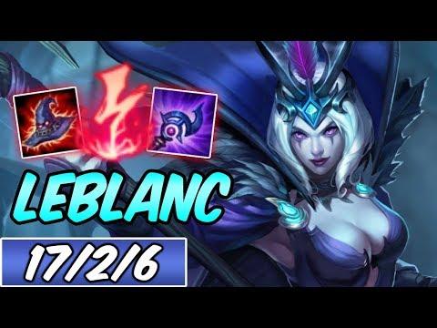 LEBLANC MID | Highest Win Rate Build & Runes | Diamond Ravenborn LeBlanc | League of Legends | S9