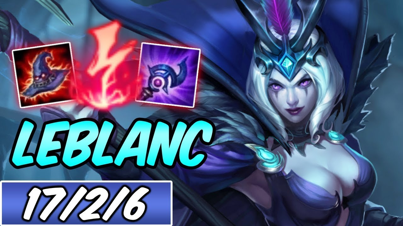 Leblanc Mid Highest Win Rate Build Runes Diamond Ravenborn