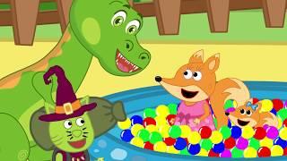 Fox Family en Español Capitulos Completos nuevos | Familia de fox para niños #39