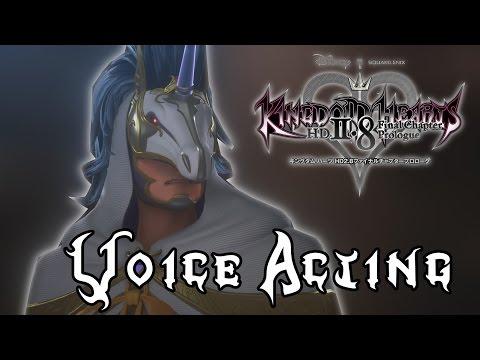 Kingdom Hearts 2.8 News - Back Cover Voice Actors