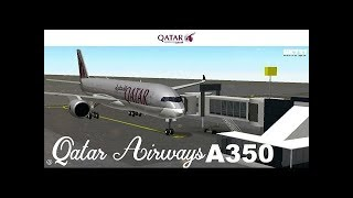 ROBLOX | Airbus A350-900 Qatar Airways | SFS Flight Simulator
