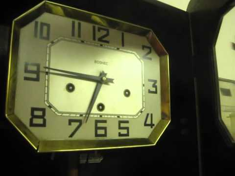 Odo French Wall Clock With Gai Carillon Chimes Youtube