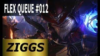 Ziggs Mid - Full League of Legends Gameplay [Deutsch/German] LoL Flex Queue Ranked Game #012