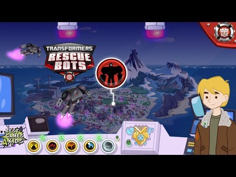 Transformers Rescue Bots: Hero Adventures | All 5 RESCUE MISSIONS Complete! By Budge Studios