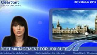 Debt management for job cuts