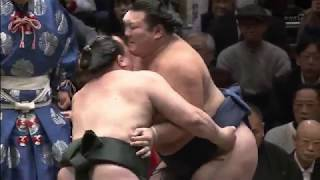 Sumo -Hatsu Basho 2019 Day 7 HIFI January 19th -大相撲初場所2019 7日