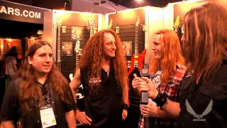 Dean Guitars 2014 N.A.M.M. Interview - Scattered Hamlet / Randy Cooper