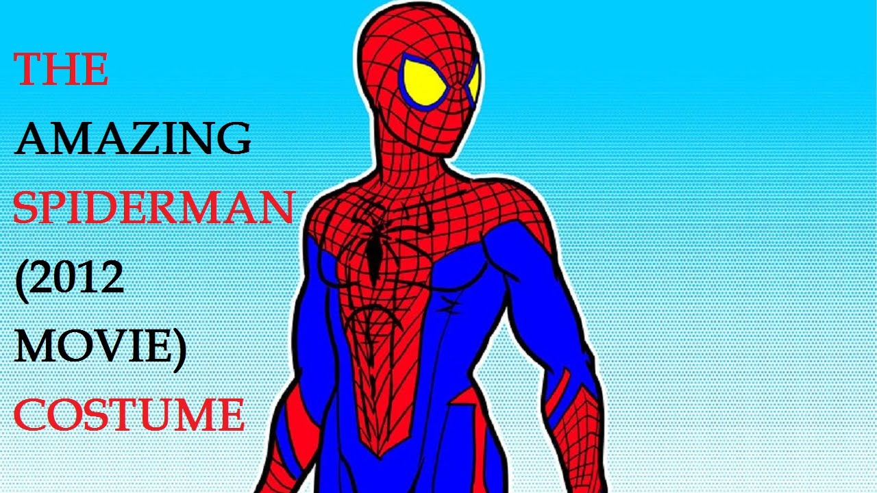 How to Make a Spider Man Costume | The Amazing Spiderman (2012 movie) costume - YouTube