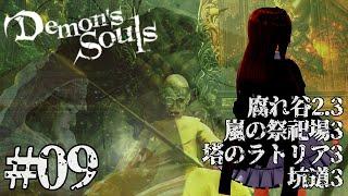 【Demon's Souls /PS5】リベンジ今度こそ腐れ谷2をクリアする!!! # 09【 #花京院ちえり 】