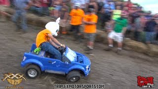 MOST INSANE REDNECK BARBIE JEEP RACING EVER!!