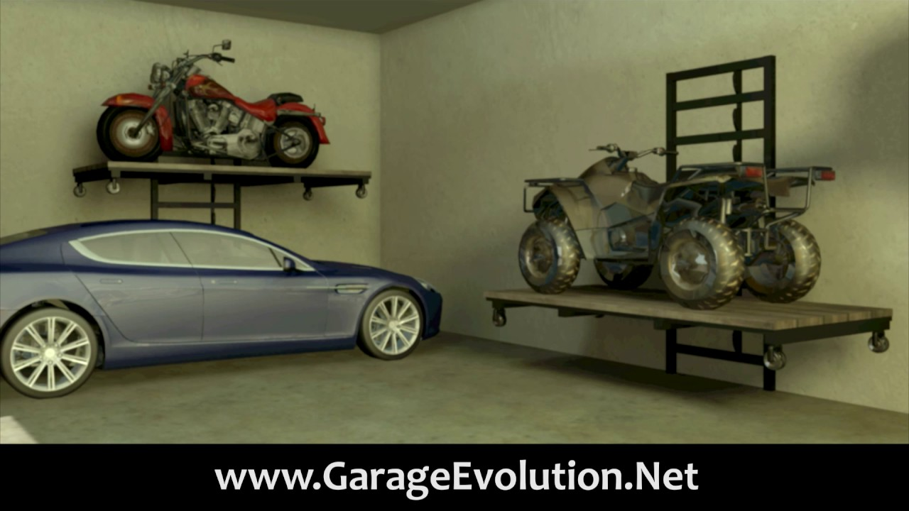 Store-It Lift System/Garage Storage Lift  sc 1 st  YouTube & Store-It Lift System/Garage Storage Lift - YouTube