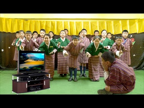 Television by Roald Dahl, A poem by the students of Sunshine School
