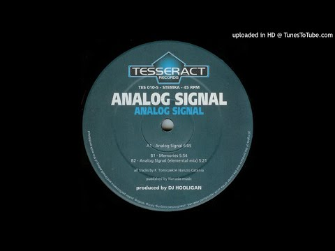 Analog Signal - Memories
