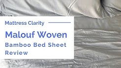 Malouf Woven Bamboo Bed Sheet Review