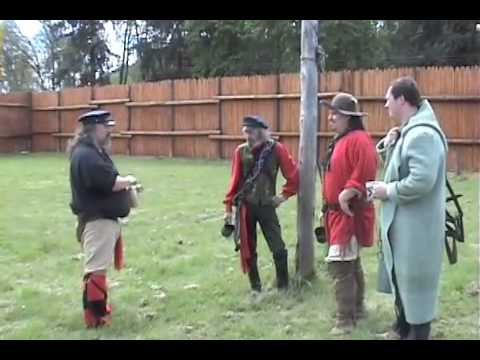 Musket Firing at Fort