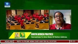 South Africa's New President To Deliver First 'State Of The Nation' Address |Network Africa|