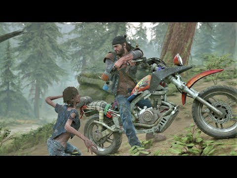 Days Gone PS4 - Combat & Stealth Moments
