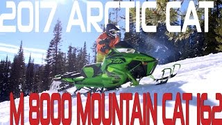 STV 2017 Arctic Cat M 8000 Mountain Cat 162