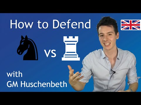 How to Defend Knight vs. Rook | Chess Endgame Basics #3