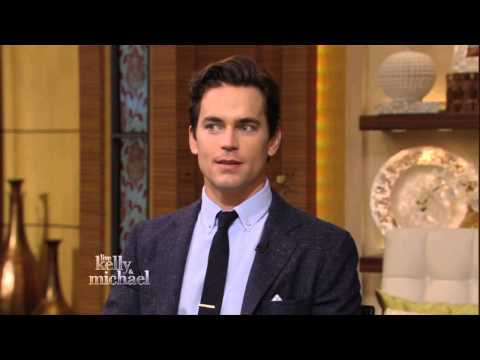 Matt Bomer on LIVE with Kelly and Michael
