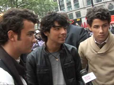 Jonas Brothers in London, UK for 3D Film Premiere