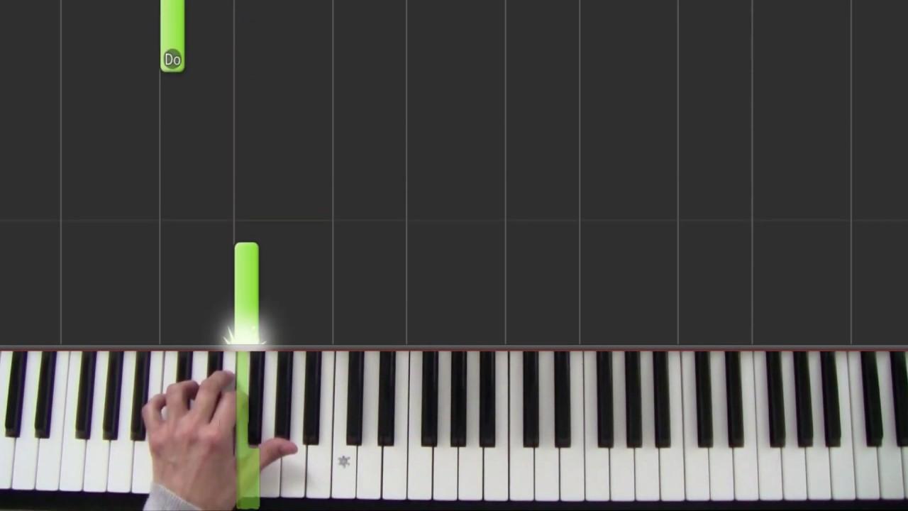 Le Parrain - The Godfather - Cours de piano pour débutants - Leçon 2