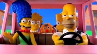 Los Simpsons: chiste de sofa en plastilina 3D