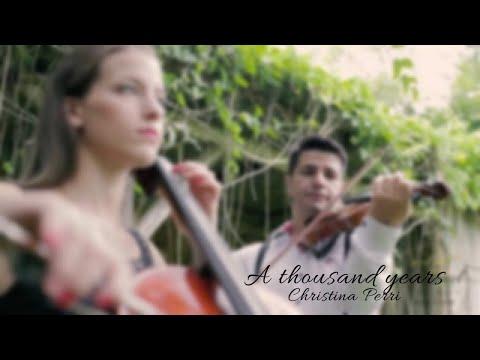 A Thousand Years Christina Perri Música para Casar por Symphony Produções
