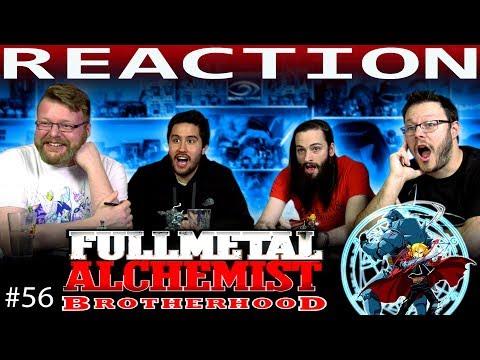 "Fullmetal Alchemist: Brotherhood Episode 56 REACTION!! ""The Return of the Führer"""