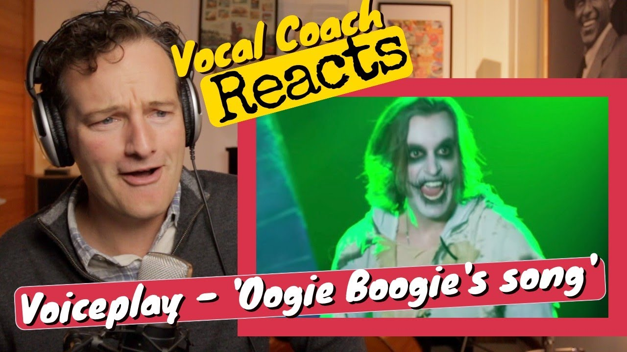 Download Vocal Coach REACTS - VoicePlay 'Oogie Boogie's Song' (Geoff Castellucci - A Cappella)