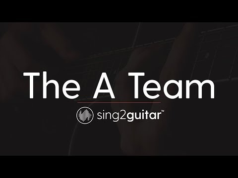 The A Team (Acoustic Guitar Karaoke Instrumental) Ed Sheeran