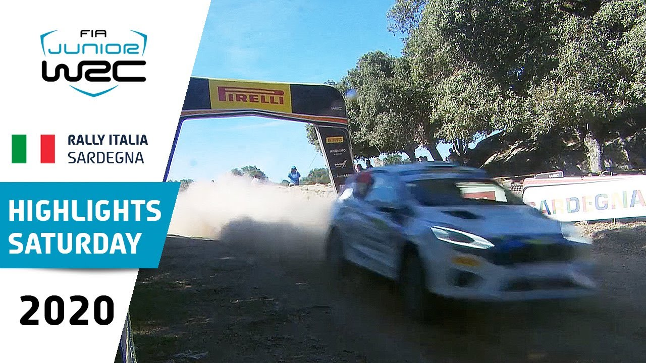 Junior WRC - Rally Italia Sardegna 2020: Saturday Highlights
