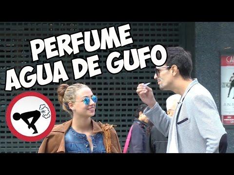 CÁMARA OCULTA   PERFUME AGUA DE GUFO