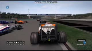 F1 2007 Real crash in game