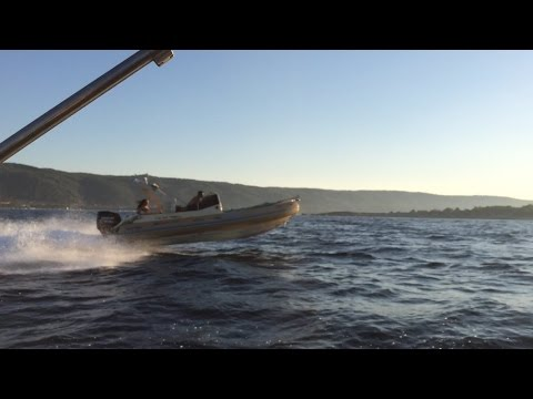 Solemar 25 offshore, boat rib cruising in Greece