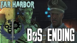 Fallout 4 Far Harbor DLC Brotherhood of Steel Ending