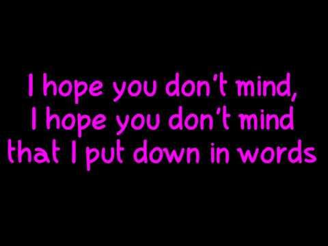 Glee - Your Song (Lyrics) HD